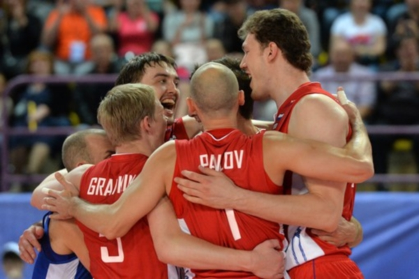 Russian Volleyball Team has successfully reached the Final Six