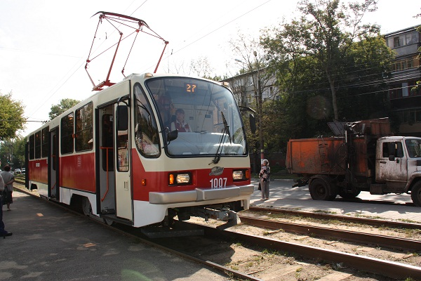 10 new trams have entered the route in Nizhny Novgorod, Russia