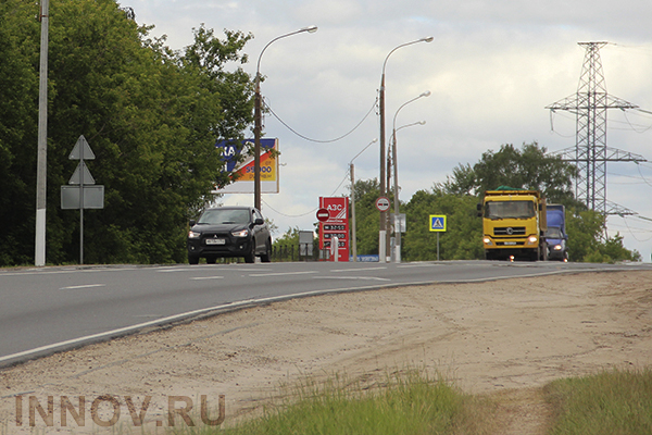 Valery Shantsev has opened the first queue of Vykunskaya bypass road, Russia