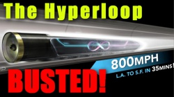 Finally Hyperloop hype produces some results: a sluggish journey for 500 meters