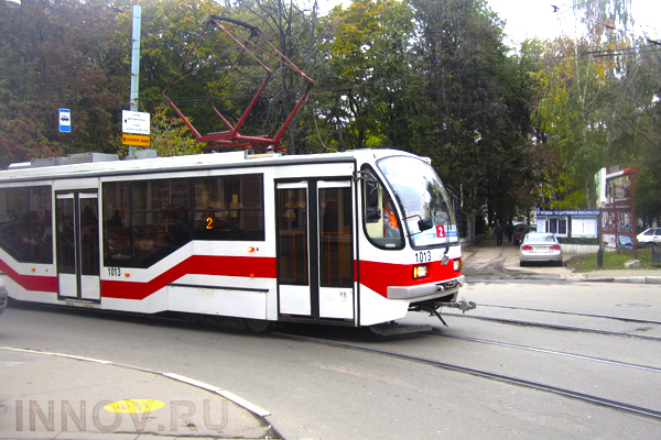 More than 20 tram crossings were repaired in Nizhniy Novgorod, Russia