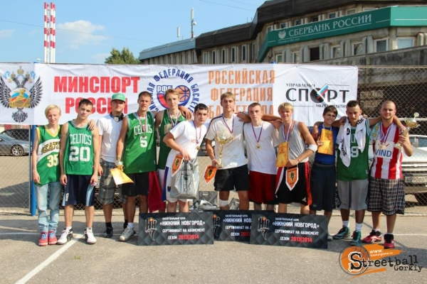 "The registration on the mass streetball tournament in Nizhniy Novgorod ""Orange Ball 2014"" started"