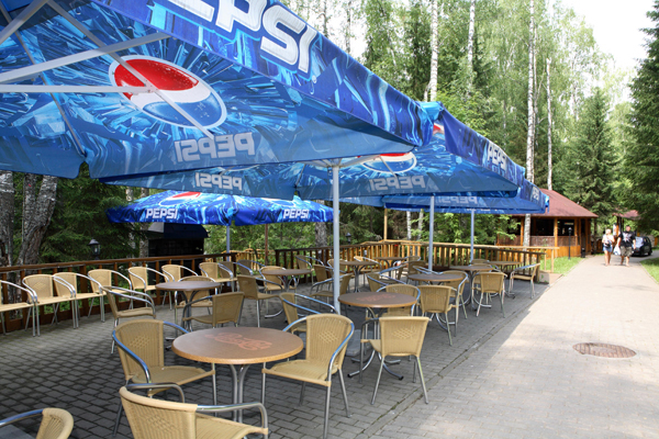 Outdoor cafes must look in accordance with special requirements