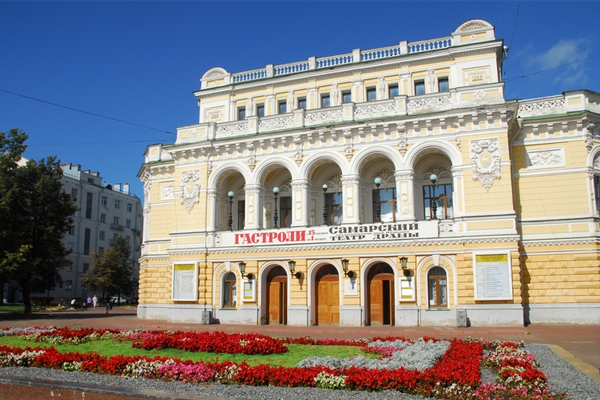 Electronic tickets to the Drama Theater will be available for citizens of Nizhny Novgorod, Russia